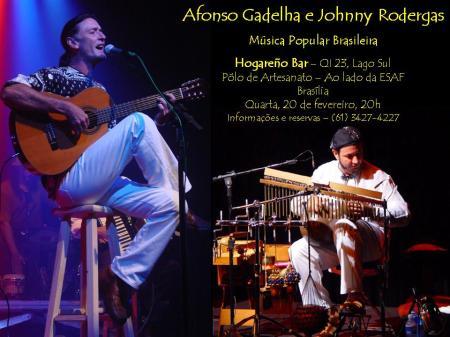 AFONSO GADELHA & JOHNNY RODERGAS no HogareñoBar