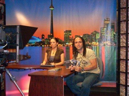 Entrevista na CRN TV em Toronto-Canadá para o show do BEACHES JAZZFESTIVAL