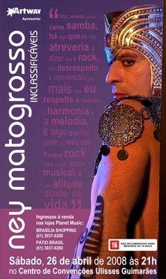 Ney Matogrosso _ Inclassificáveis _ 26 Abril _ Centro de Convenções UlissesGuimarães