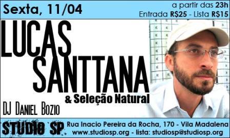 Lucas Santtana e Selecaonatural