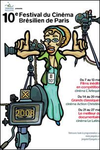 Festival de cinema brasileiro em Paris completa 10 anos