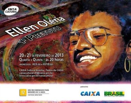 Ellen Oléria + Pret.utu _ Teatro da Caixa..